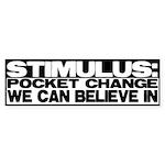 Stimulus Bumper Sticker (10 pk)