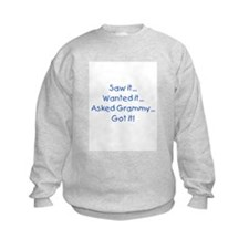Asked Grammy Blue Sweatshirt