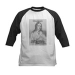Shakespeare: Beauty of Juliet Kids Baseball Jersey
