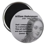 Shakespeare: Beauty of Juliet Magnet