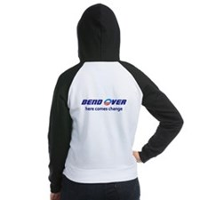 Bend Over - Here Comes Change Women's Raglan Hoodi