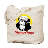 FURIOUS GEORGE Tote Bag