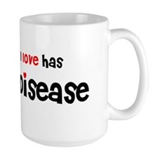 someone I love Celiac Disease Mug