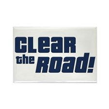Clear the Road Rectangle Magnet (100 pack)