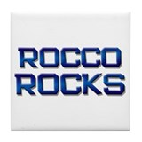 rocco rocks Tile Coaster
