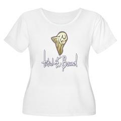 Bound Women's Plus Size Scoop Neck T-Shirt
