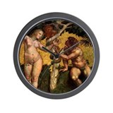 Raphael The Fall Wall Clock