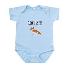 Irish Fox Infant Bodysuit Onesie shirt