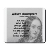 Tragic Love: Romeo and Juliet Mousepad
