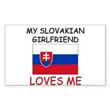 My Slovakian Girlfriend Loves Me Decal