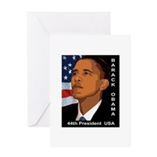 OBAMA SHOPS: Greeting Card