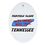 Glades tennessee Oval Ornaments