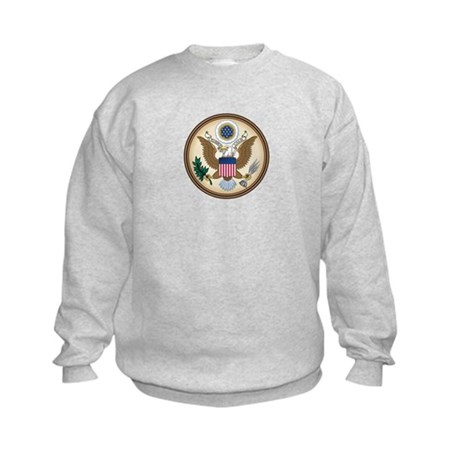 Great Seal (front and back!) Kids Sweatshirt