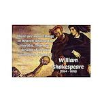 Tragedy of Hamlet Rectangle Magnet (100 pack)