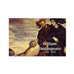 Tragedy of Hamlet Rectangle Magnet (10 pack)