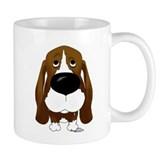 Big Nose/Butt Basset Small Mug