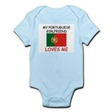 My Portuguese Girlfriend Loves Me Infant Bodysuit