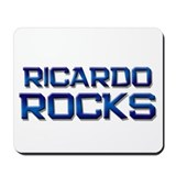 ricardo rocks Mousepad
