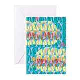 Abstract Sandwich Greeting Cards (Pk of 20)