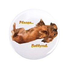 "Bellyrub Doxie 3.5"" Button"