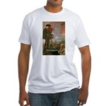 Hamlet Famous Soliloquy Fitted T-Shirt