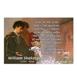 Hamlet Famous Soliloquy Postcards (Package of 8)