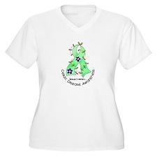 Flower Ribbon CELIAC DISEASE T-Shirt