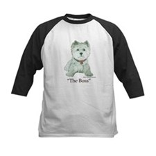"""The Boss"" Westhighland White Terrier Tee"
