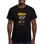 Official Dead Body Guy Men's Fitted T-Shirt (dark)