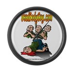 Official Dead Body Guy Large Wall Clock