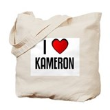 I LOVE KAMERON Tote Bag