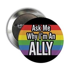 ALLY 2.25 inch Ask Me Button
