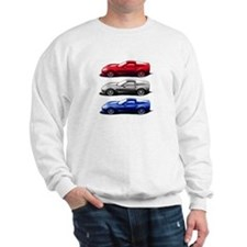 red white blue zr1 Sweatshirt