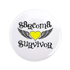 "Sarcoma Survivor 3.5"" Button (100 pack)"