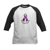Flower Ribbon Fibromyalgia Tee