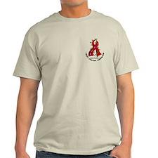 Flower Ribbon Heart Disease Shirt T-Shirt