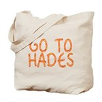 Go To Hades Tote Bag