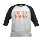 Go To Hades Kids Baseball Jersey