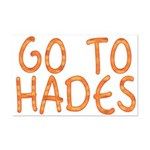 Go To Hades Mini Poster Print