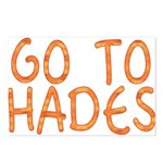 Go To Hades Postcards (Package of 8)