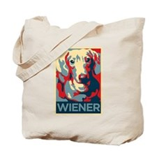 Vote Wiener! Tote Bag