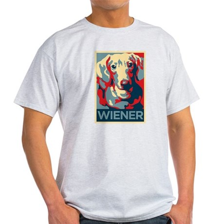 Vote Wiener! Light T-Shirt