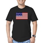 American Atheist Black Flag T-Shirt