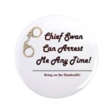 "Arrest Me Charlie 3.5"" Button"