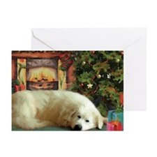 Great Pyrenees Cards, pk of 10, Christmas Eve