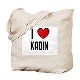 I LOVE KADIN Tote Bag