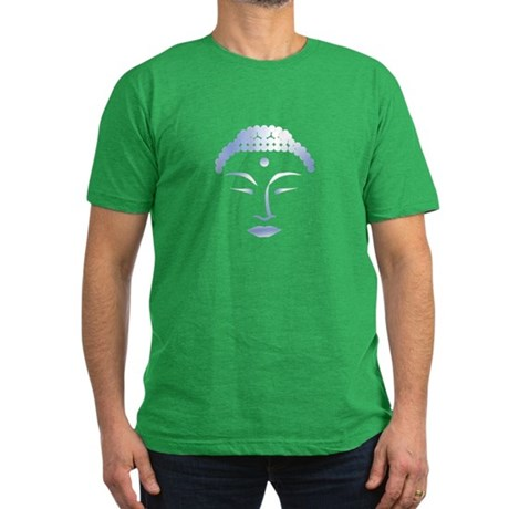 Buddha Head 2 Men's Fitted T-Shirt (dark)