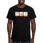 Eat Sleep Hammer Throw Men's Fitted T-Shirt (dark)