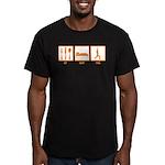 Eat Sleep Yoga Men's Fitted T-Shirt (dark)
