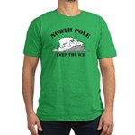 Earth Day : Save the North Pole Men's Fitted T-Shi